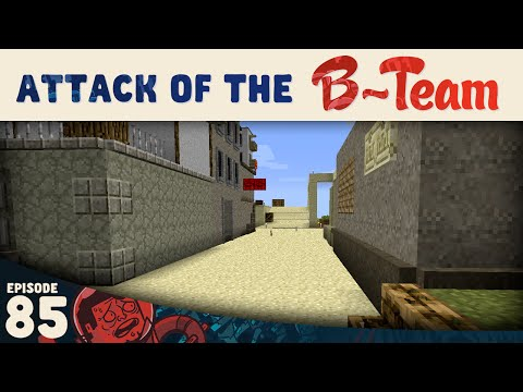 Minecraft :: Widening the Road :: Attack of the B-Team E85