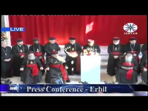 Press Conference to announce to the faithful of the Assyrian Church of the East