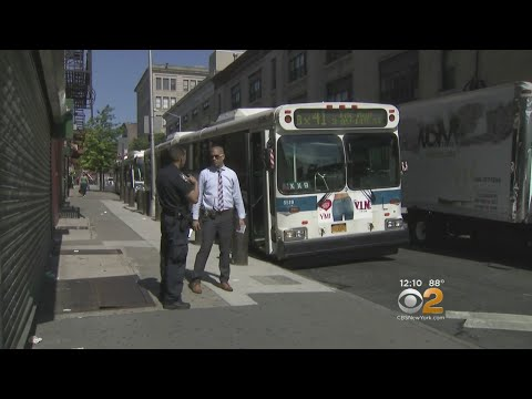 MTA Bus Driver Slashed In The Bronx