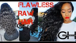 GLAMOUR HOUSE OF HAIR - RAW Southeast Asian Hair - Most Natural Looking Closure EVER - NO PLUCKING