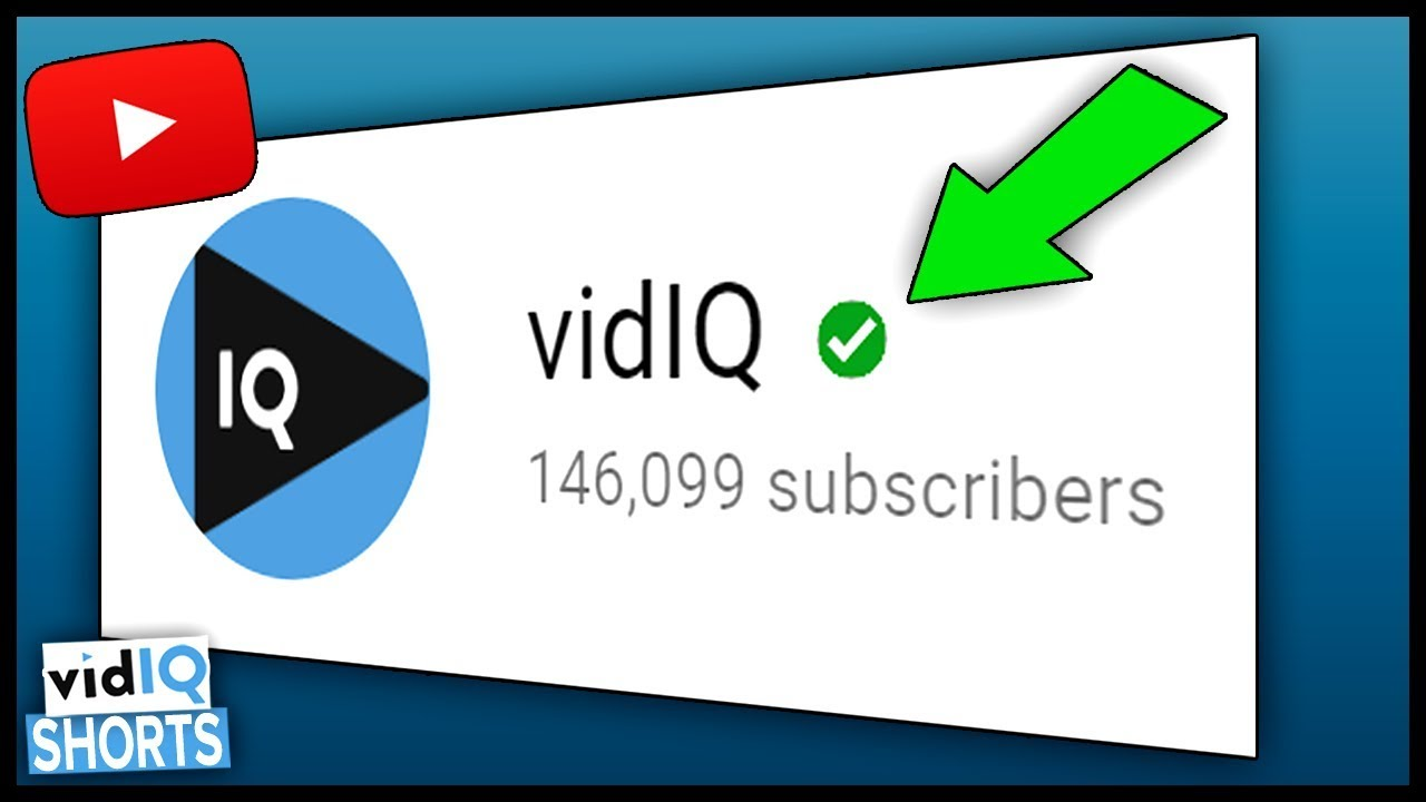 How To Get The Verified Badge On Youtube In 2018 In 60