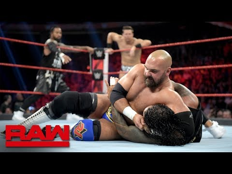 The Miz & The Usos vs. Elias & The Revival – 2-out-of-3 Falls Match: Raw, July 8, 2019