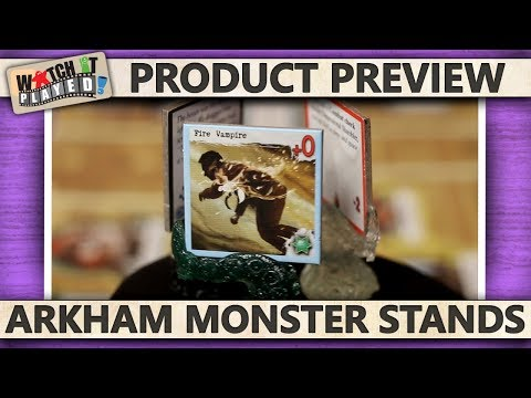 Product Preview - Arkham Monster Stands