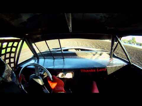 Thundercar HotLaps (Jason Shrout ) Gas City Speedway 8-17-12