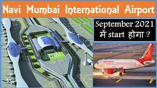 Navi Mumbai International Airport NMIA Costruction Update   New airport in Mumbai  Papa Construction