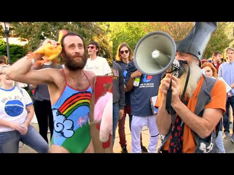 Vermin Supreme Debates Matthew Silver then become running mates!