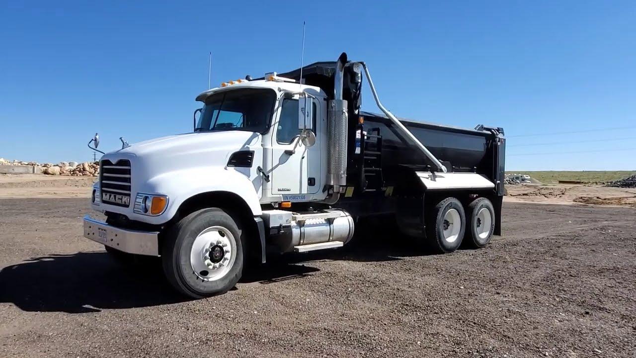 2005 Mack Granite Tandem Dump For Sale- Call JW 970-518-5520