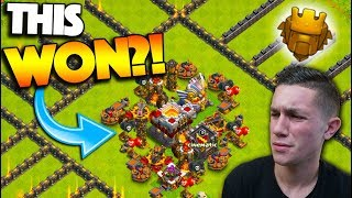 THIS BASE ACTUALLY WON?! BACK IN TITANS LEAGUE! ~ Clash of Clans