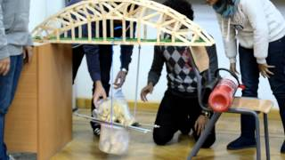 Sanai3eya Trussed Arch Bridge Model