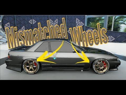 Forza Horizon 3 Mods - Mismatched wheels