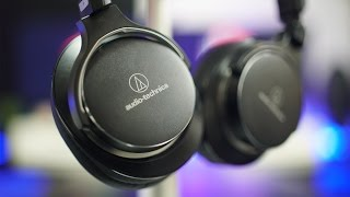معاينة سماعات Audio Technica MSR7 نسخة إلغاء الضجيج