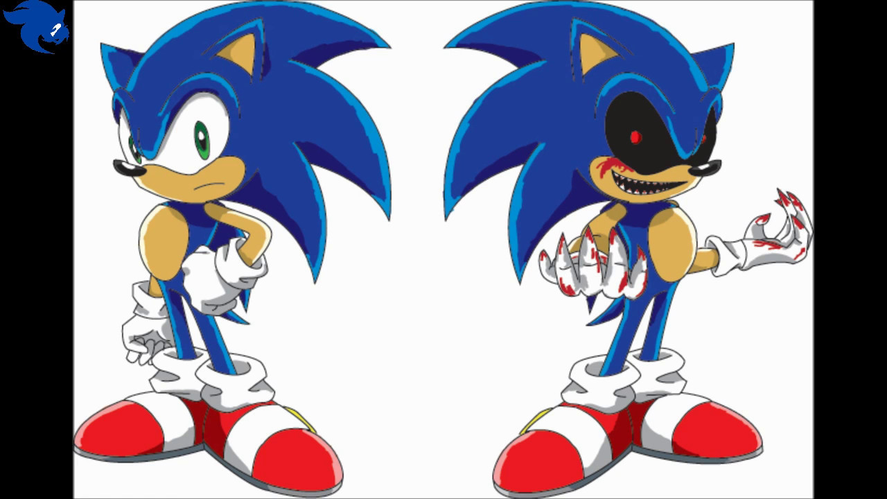 sonic.exe coloring pages sonic y sonic exe paint   YouTube sonic.exe coloring pages