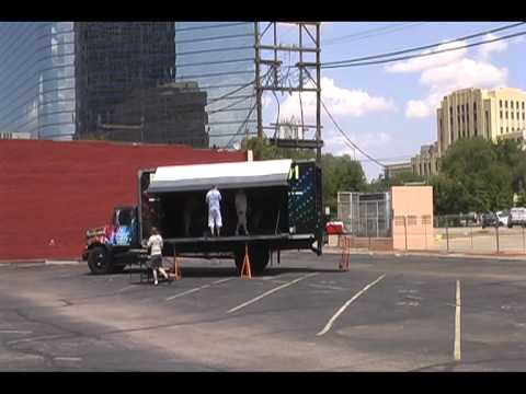 Mobile Stage Amp Sound Truck Youtube