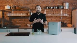 видео Льдогенератор кускового льда (пальчики) GASTRORAG DB-07