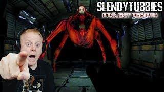 SPIDER PO WANTS ME DEAD | SLENDYTUBBIES PROJECT REBIRTH ( DEMO ) NOO NOO'S BASE - COLLECT 10