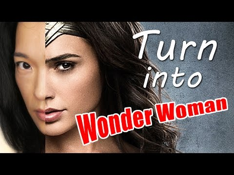 Watch Me Turn into Gal Gadot as Wonder Woman - Digital Cosplay Fun