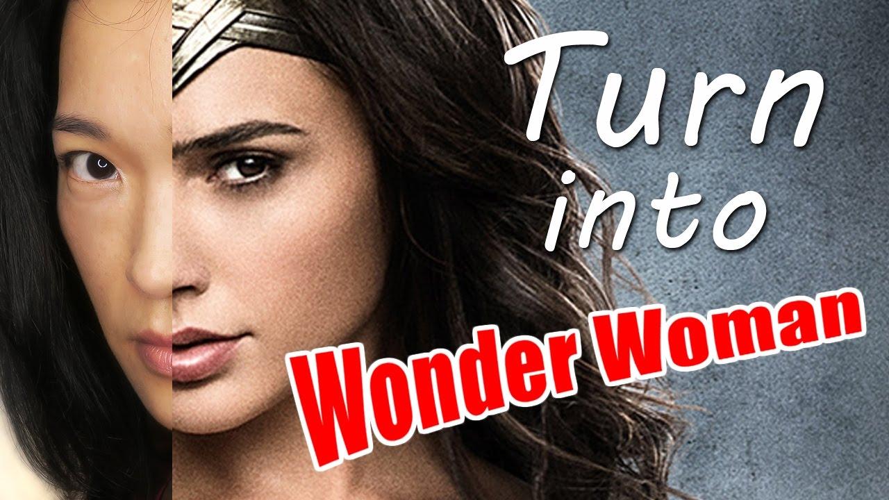 Watch Me Turn Into Gal Gadot As Wonder Woman Digital Cosplay Fun