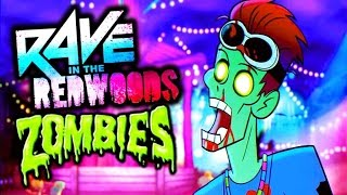 RAVE IN THE REDWOODS INTRO CINEMATIC TRAILER LIVE REACTION! CALL OF DUTY INFINITE WARFARE ZOMBIES