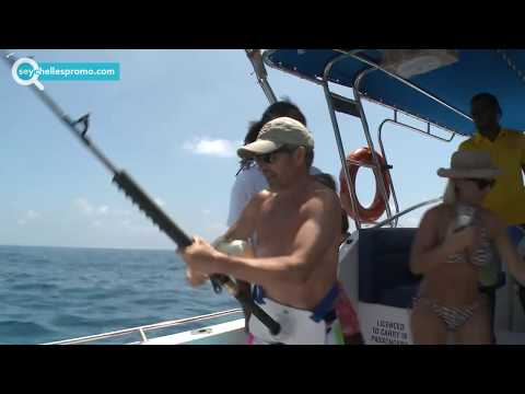 Seychelles #1 Of Top Fishing Boat Charters On Praslin - Barracuda