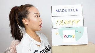 เห่อเครื่องสำอาง แฟชั่น สกินแคร์ | Colourpop, Konvy, Style Korean, Quay Australia