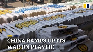 China's New Year's resolution: bans on plastic straws, plates,  non-biodegradable plastic bags