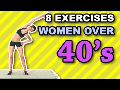8 Best Exercises For Women Over 40's