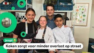 In dit restaurant werken kinderen als ober en kok