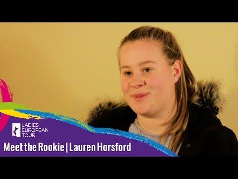 Meeth the Rookie   Lauren Horsford