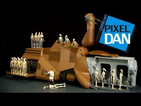 Hasbro Star Wars Trade Federation MTT (Multi Troop Transport) Video Review