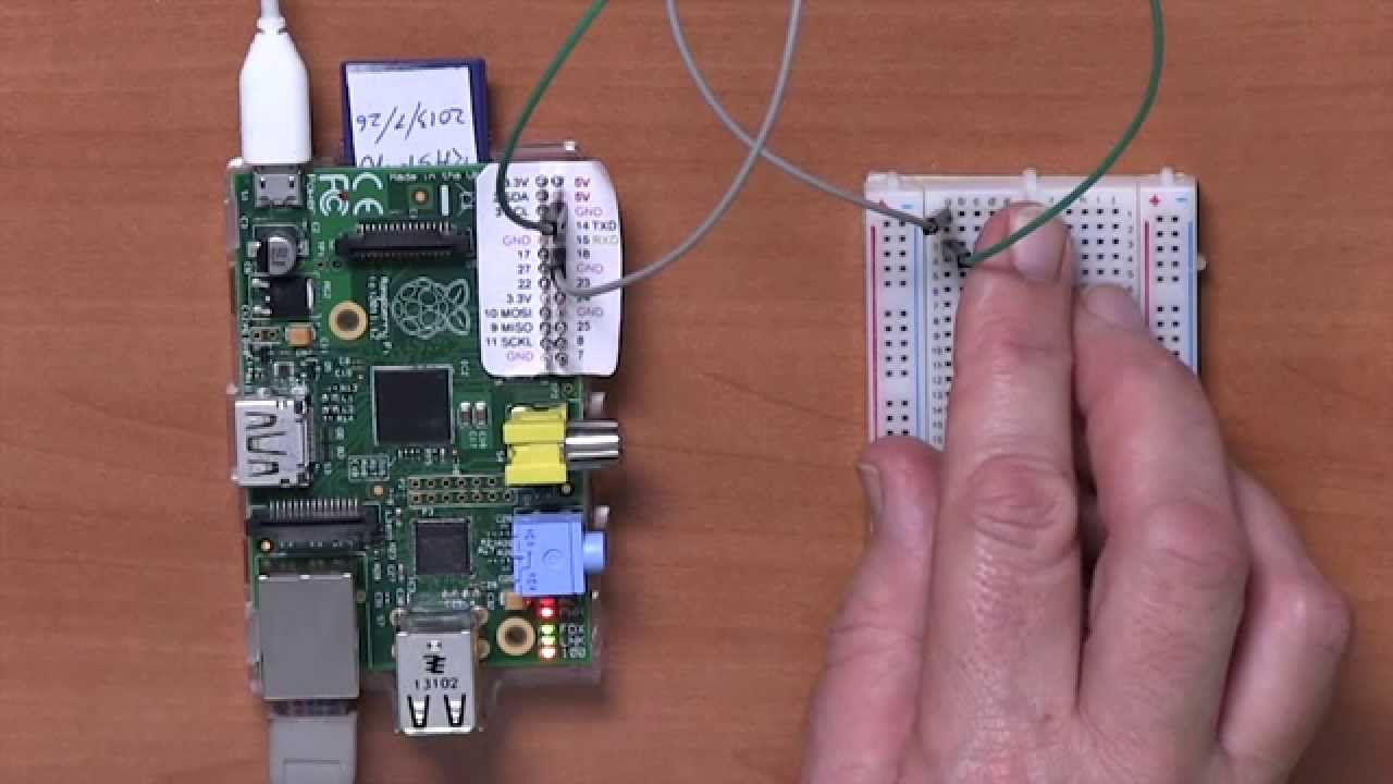Connecting A Push Switch With Raspberry Pi Youtube Topic How To Wire Cherry Microswitch Arcade Button For Digital Read