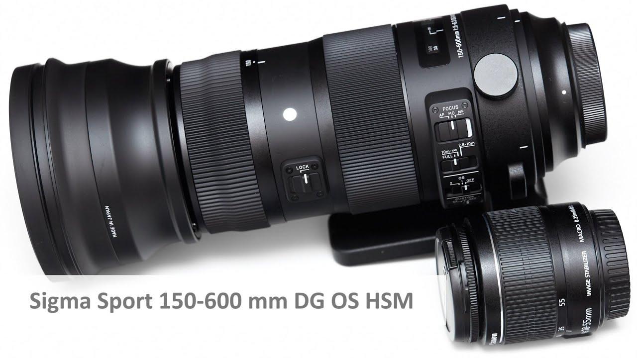 Download Sigma [S] 150-600 mm Sport - Unboxing eines Super-Tele-Zoom-Objektiv [Deutsch | 1080p50]