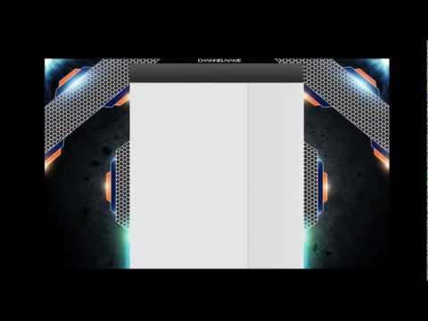 Free Youtube Background Template #2 | Psd File | by SunyxHD