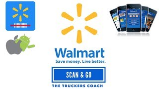 Walmart Scan & Go Self check out system . Shopping made simple