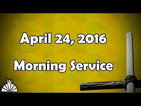 April 24th, 2016 AM