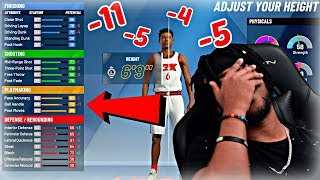 TRYING TO FIND MY NBA 2K20 BUILD! (DID THEY NERF SMALL FORWARDS!?)  BEST SF BUILD IN NBA 2K20!!