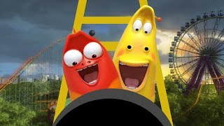 LARVA - LARVA-COASTER | Cartoon Movie | Cartoons For Children | Larva Cartoon | LARVA Official