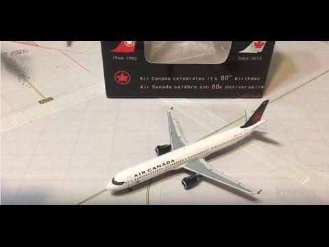Aeroclassics 1/400 Air Canada A321New Livery Model Review