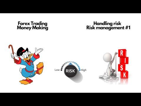 Forex Trading Money Making | Handling risk | Risk management #1