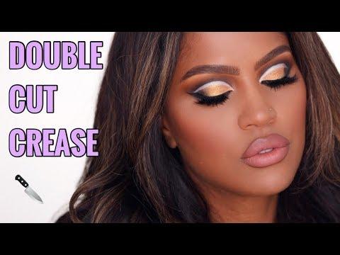 BRONZE DOUBLE CUT CREASE | MAKEUPSHAYLA thumbnail