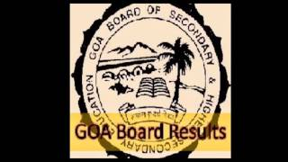 Goa HSSC Results 2016 - GBSHSE Result goaresults.nic.in