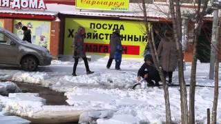 Потоп в Лесной поляне Астана