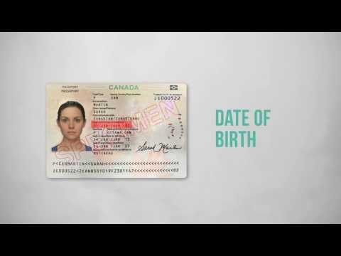 What is on the chip of the Canadian ePassport