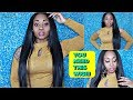 YOU NEED THIS SYNTHETIC WIG!!!🔥🔥