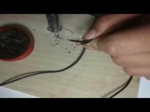 Como adaptar una bocina portátil de celular a un conector (Jack) de 3.5mm y alimentada vía USB