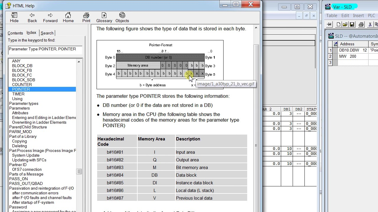 How to use SLD3 in STL Language siemens step-7