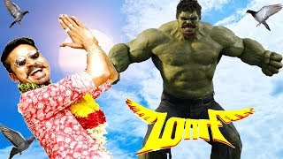 Maari Trailer Remix The Incredible Hulk 2