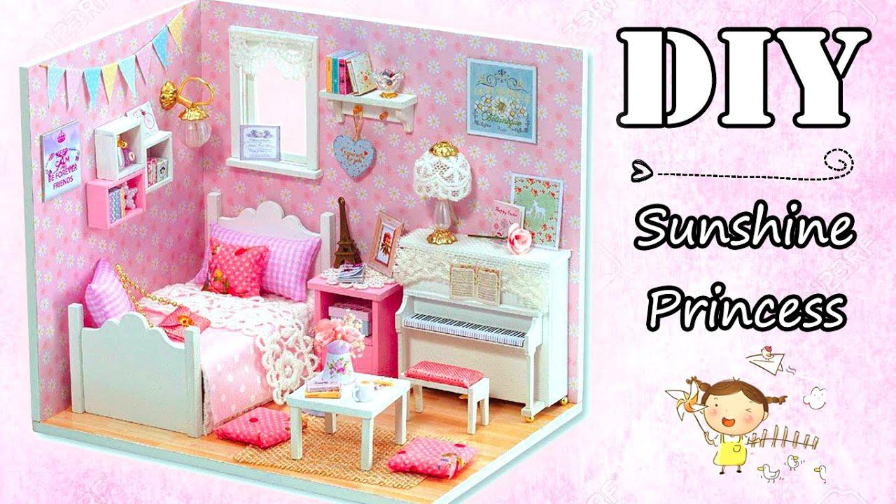 Diy Miniature Dollhouse Kit Sunshine Princess With