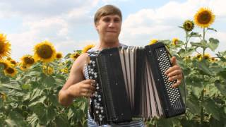 Настоящий народный талант! Accordion folk music.