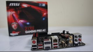 mSI Z170I GAMING PRO AC review, build, overclock tests