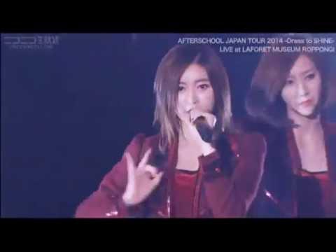 [LIVE] Flashback - AFTERSCHOOL (Japan Tour 2014  - Dress to SHINE)